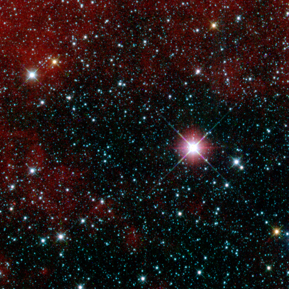 Image of thousands of stars, taken from WISE