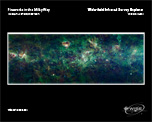 The large number of multicolored clouds and particles make up this enormous section of the Milky Way Galaxy.