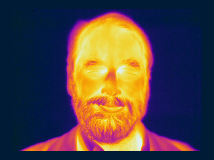 Ned Wright in infrared.