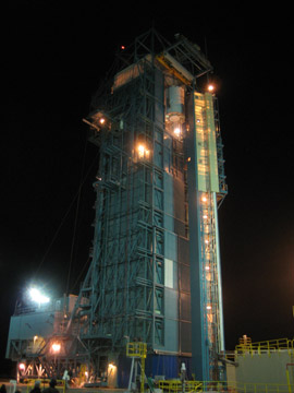 Predawn Launch pad